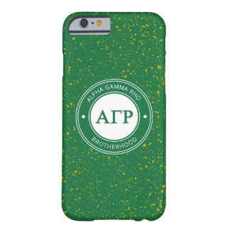 Alpha Gamma Rho | Badge Barely There iPhone 6 Case