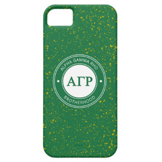 Alpha Gamma Rho | Badge iPhone 5 Case