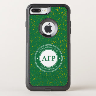 Alpha Gamma Rho | Badge OtterBox Commuter iPhone 8 Plus/7 Plus Case