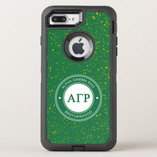 Alpha Gamma Rho | Badge OtterBox Defender iPhone 8 Plus/7 Plus Case