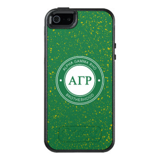 Alpha Gamma Rho | Badge OtterBox iPhone 5/5s/SE Case