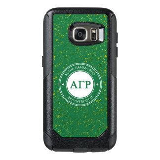 Alpha Gamma Rho   Badge OtterBox Samsung Galaxy S7 Case