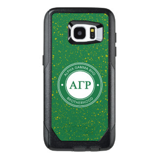 Alpha Gamma Rho | Badge OtterBox Samsung Galaxy S7 Edge Case