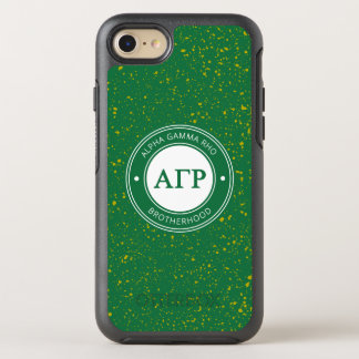 Alpha Gamma Rho | Badge OtterBox Symmetry iPhone 8/7 Case