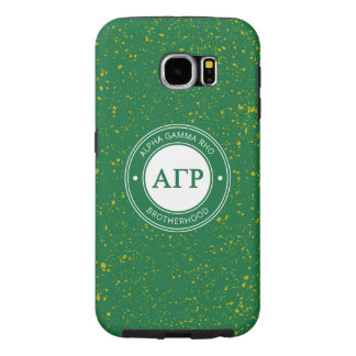 Alpha Gamma Rho | Badge Samsung Galaxy S6 Cases
