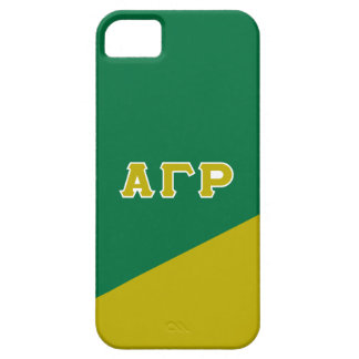 Alpha Gamma Rho | Greek Letters Barely There iPhone 5 Case