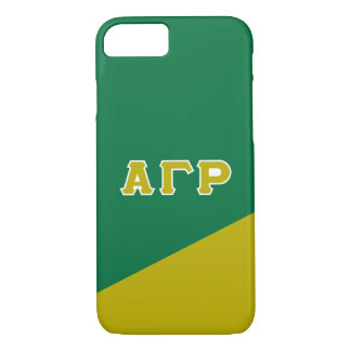 Alpha Gamma Rho | Greek Letters iPhone 8/7 Case