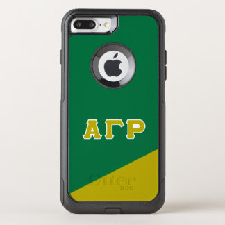 Alpha Gamma Rho | Greek Letters OtterBox Commuter iPhone 8 Plus/7 Plus Case
