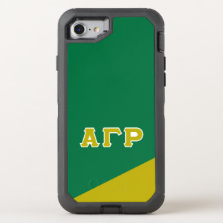 Alpha Gamma Rho | Greek Letters OtterBox Defender iPhone 8/7 Case