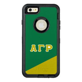 Alpha Gamma Rho   Greek Letters OtterBox Defender iPhone Case