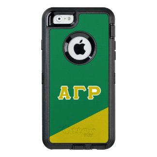 Alpha Gamma Rho | Greek Letters OtterBox Defender iPhone Case
