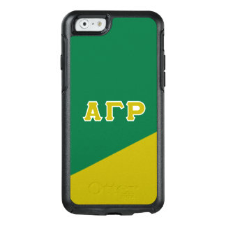 Alpha Gamma Rho | Greek Letters OtterBox iPhone 6/6s Case