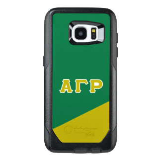 Alpha Gamma Rho | Greek Letters OtterBox Samsung Galaxy S7 Edge Case