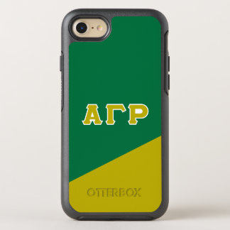 Alpha Gamma Rho | Greek Letters OtterBox Symmetry iPhone 8/7 Case