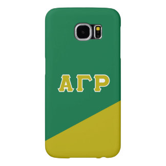 Alpha Gamma Rho | Greek Letters Samsung Galaxy S6 Cases