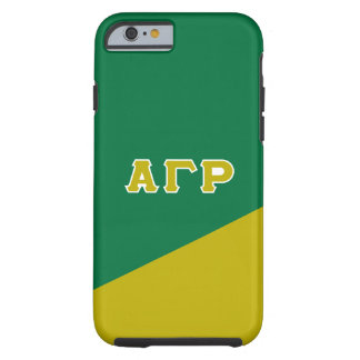 Alpha Gamma Rho | Greek Letters Tough iPhone 6 Case