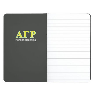 Alpha Gamma Rho Green and Yellow Letters Journal