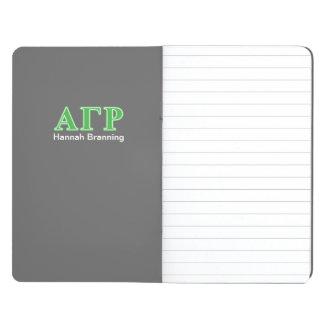 Alpha Gamma Rho Green Letters Journal