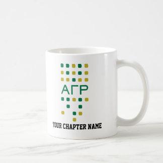 Alpha Gamma Rho - Letters Vertical Coffee Mug