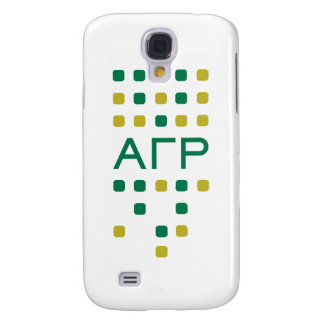 Alpha Gamma Rho - Letters Vertical Galaxy S4 Case