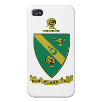 Alpha Gamma Rho Official Coat of Arms Case For iPhone 4