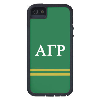 Alpha Gamma Rho | Sport Stripe iPhone 5 Case