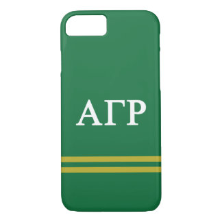 Alpha Gamma Rho | Sport Stripe iPhone 8/7 Case