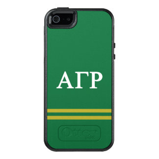 Alpha Gamma Rho | Sport Stripe OtterBox iPhone 5/5s/SE Case