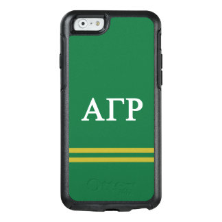 Alpha Gamma Rho | Sport Stripe OtterBox iPhone 6/6s Case
