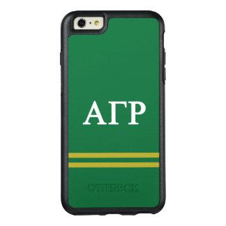 Alpha Gamma Rho   Sport Stripe OtterBox iPhone 6/6s Plus Case
