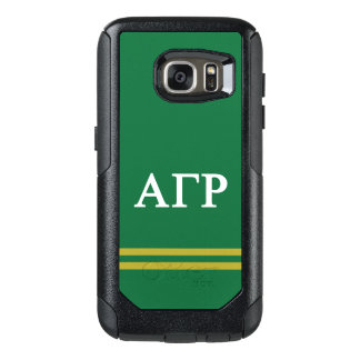 Alpha Gamma Rho | Sport Stripe OtterBox Samsung Galaxy S7 Case