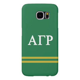 Alpha Gamma Rho | Sport Stripe Samsung Galaxy S6 Cases