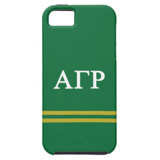 Alpha Gamma Rho | Sport Stripe Tough iPhone 5 Case