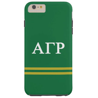 Alpha Gamma Rho | Sport Stripe Tough iPhone 6 Plus Case