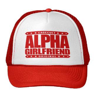 ALPHA GIRLFRIEND - I Wear The Skinny Jeans, Red Cap