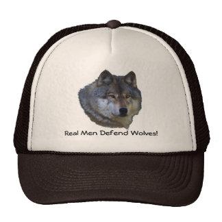 Alpha Grey Wolf Wildlife Supporter Hat