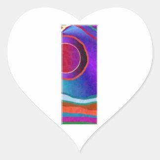 ALPHA III Alphabet: ID Identity Initial Reference Heart Sticker