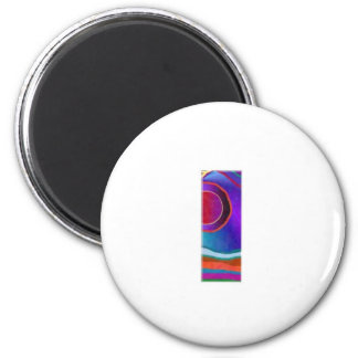 ALPHA III Alphabet: ID Identity Initial Reference 6 Cm Round Magnet