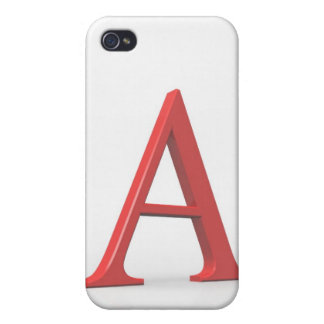 Alpha iPhone 4 Cover