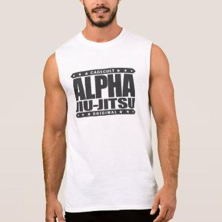 ALPHA JIU-JITSU - I Love Grappling Training, Black Sleeveless Shirt