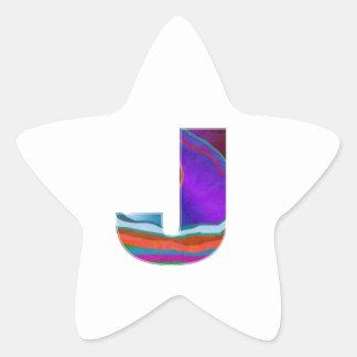ALPHA JJJ Alphabet: name initial ref ID IDENTITY Star Sticker