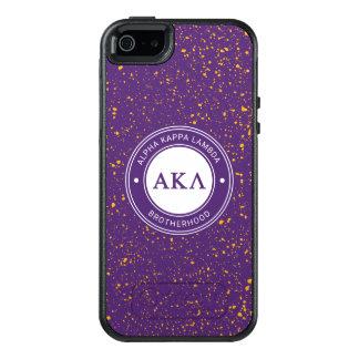 Alpha Kappa Lambda | Badge OtterBox iPhone 5/5s/SE Case