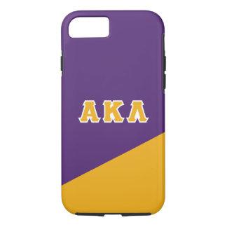Alpha Kappa Lambda | Greek Letters iPhone 7 Case