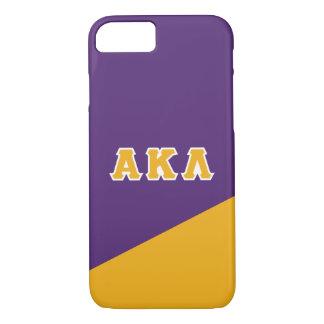 Alpha Kappa Lambda | Greek Letters iPhone 8/7 Case