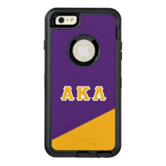 Alpha Kappa Lambda | Greek Letters OtterBox Defender iPhone Case