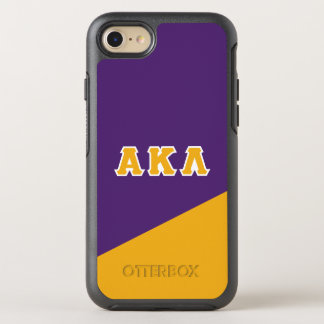 Alpha Kappa Lambda | Greek Letters OtterBox Symmetry iPhone 8/7 Case