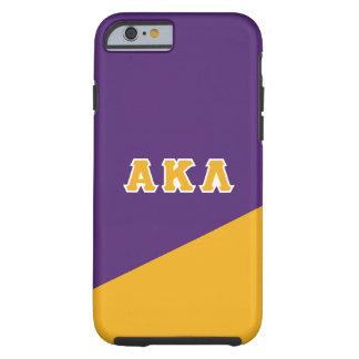 Alpha Kappa Lambda   Greek Letters Tough iPhone 6 Case