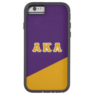 Alpha Kappa Lambda   Greek Letters Tough Xtreme iPhone 6 Case