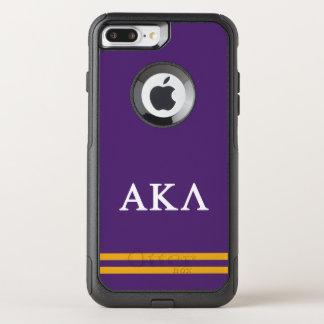 Alpha Kappa Lambda | Sport Stripe OtterBox Commuter iPhone 7 Plus Case