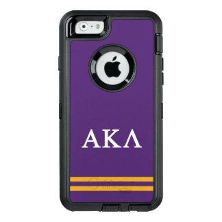 Alpha Kappa Lambda | Sport Stripe OtterBox iPhone 6/6s Case